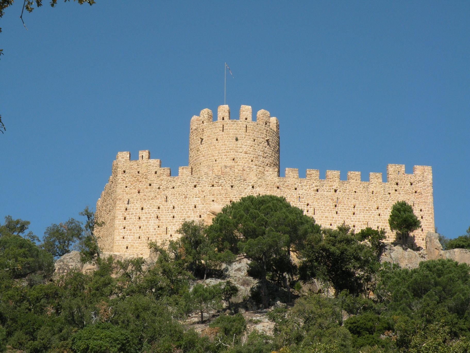 Castell de Farners - Can Baldiri - Photo Credit Wikipedia